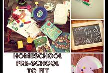 Homeschool - Preschool Years