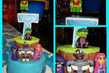 Teen Titans Go Party / by Denise Groenewold