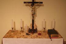 Home altar ideas