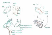 Drawing tips (Foot)