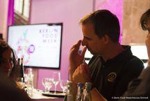 """Gerolsteiner Wasser- und Wein-Tasting / Gemeinsam mit Alexander Kohnen veranstaltete #Gerolsteiner auf der #Berlin #Food #Week einen #Sensorik-Workshop zum Thema """"Harmonie von Wasser und Wein"""". Wer nicht dabei sein konnte, kann sich hier einen visuellen Einblick verschaffen und für alle, die mehr zu diesem Thema wissen möchten, denen sei folgende Seite ans #Herz gelegt: http://www.weinplaces.de/weinfacts/harmonie-von-speisen-wein-und-wasser.html"""