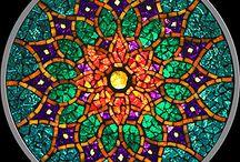 mandarlas en mosaicos