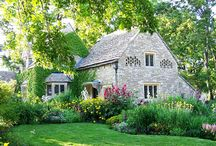 Romantic cottages and or homes.