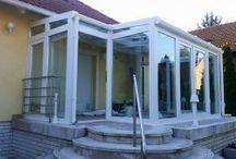 Télikert képek / Tekintse meg néhány elkészült télikert munkánkat! A terasz beépítés Magyarország és Ausztria teljes területén, minden településen lehetséges!