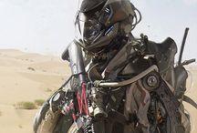 Sci fi and Cyberpunk