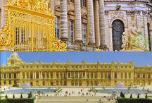 po Francii Versailles Palace, Paris:
