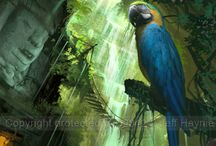 Art of Jeff Haynie / These are examples of my illustrations and concept paintings