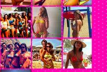 #iampinupstars / un giveaway: il nostro marchio interpretato dalle nostre più fedeli clienti #PinUpStars #beachwear #beachcouture