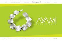 AYAMI / Sitio desarrollado en flash. Catálogo de productos programado con AS3 y XML, proyecto lidereado por @nomas_viendo =)  http://www.ayamicollections.com/