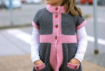 Child's knitted dress