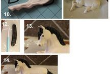 horses fondant