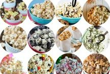 Different kinds of Popcorn