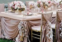 Bridal:Chairs&Table settings