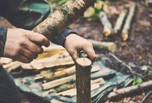 F O R E S T / Shelter building, fire, water purification, plant and tree identification, tracks and signs, tool use, carving, camp crafts and cooking | Adventures from the woods