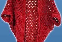 sjaal: gehekelde vierkant
