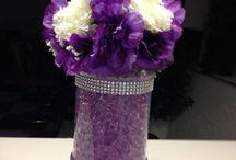 Centerpieces & Arrangement / #centerpieces : examples for your #wedding #reception