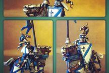 Bretonnia / #bretonnia #knight #warhammer #fantasy #wfb #painting #hobby #knightrealm