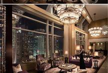 posh apartment interiors