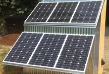 Solar station photovoltaic