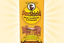 SunShield / SunShield is specially designed to help keep teak and other tropical hardwood furniture from cracking, drying and oxidizing due to exposure to sun, temperature variations or moisture. This unique formula also contains a UV inhibitor that helps protect wood finishes from the sun's harmful rays.