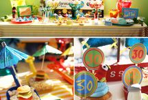 Beach Theme Party / by Claudia George
