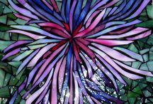 декоративное изображение цветов