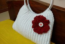 my crochet works / Crochet works done with patterns from online plus my own mix