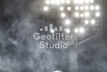 Sports Geofilters / Geofilter Studio loves creating custom Geofilters for sports teams and athletic events! For all of your custom Geofilter needs, contact Geofilter Studio!