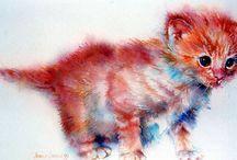 животные / животные в изобразительном искусстве, фотографии и т.п.