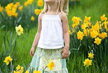 kwiaty i dzieciaki