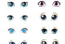 Глазки и мордочки
