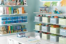 Playroom Organization / by Beth Luzier