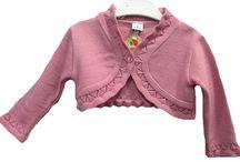 Rebecas y Rebequitas / Rebecas de punto para bebes, niños y niñas en todos los colores y formas. Lana acrílicas, natural, algodón ... etc