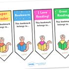 ELA - Bookmarks