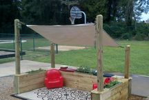 outdoor play areas / by Tabi Gates
