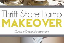 thrift store makeover / by celena tappo