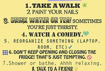 What to do when you`re bored