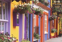 COLOURFUL HOUSES AND CITIES