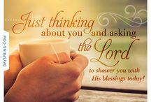 Blessings / Be Blessed to be a Blessing!