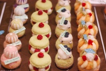 Needle felt wool sweets