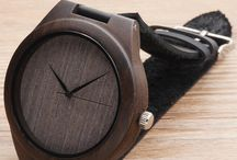 Ebony Watches / Watches made from Ebony wood - Combine style with nature