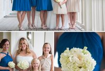 Monochrome Blue Summer Wedding / Inspired by our monochrome blues palette for a summer wedding