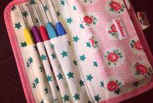 Crafty storage ideas / Keep craft bits stylishly stored