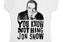 Jon Snow T-Shirts / A collection of Jon Snow and Game of Thrones inspired t-shirts, hoodies, sweatshirts, and tank tops from around the internet.