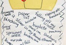 writing activities / by Tiffany Roelofs
