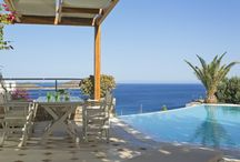 Relaxed moments by the pool / Enjoy a refreshing dip, soak up some Greek sun at the heart of the summer or just relax by the pool...Collect memories at Elounda Gulf Villas & Suites. http://goo.gl/Lc4poF