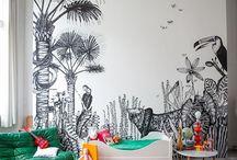 Children rooms interiors