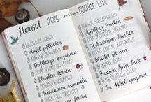 Kalender/bullet journal