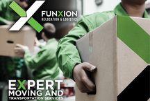 Logistics Company Branding / Funxion Relocation & Logistics