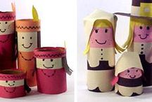 """Toilet Paper Tube Crafts / Amazing the things you can make by recycling this ordinarily """"throw-away"""" item."""